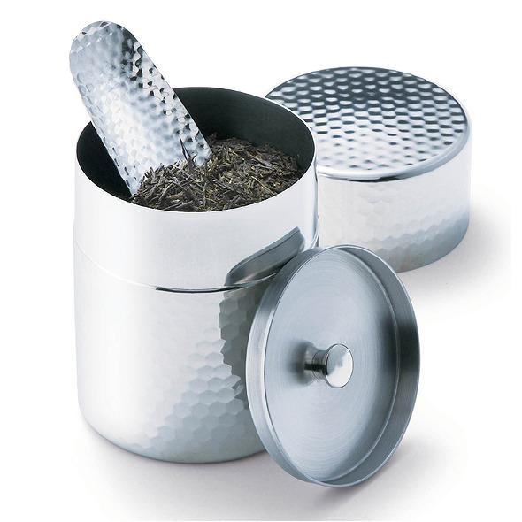 郷技 ステンレス製茶筒