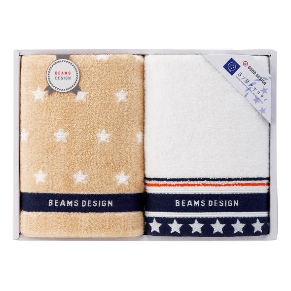 BEAMS DESIGN <THE STAR GIFT>フェイスタオル2枚セット